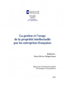 Etude Winnove-CGSP PI entreprises_page titre